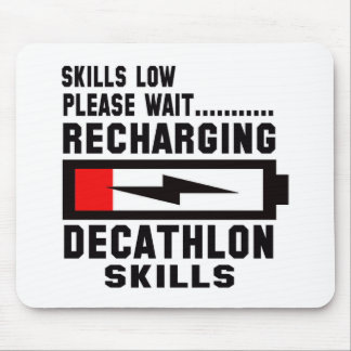 Please wait recharging Decathlon skills Mouse Pad
