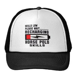 Please wait recharging Horse polo skills Trucker Hat