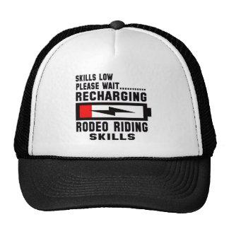 Please wait recharging Rodeo Riding skills Trucker Hat