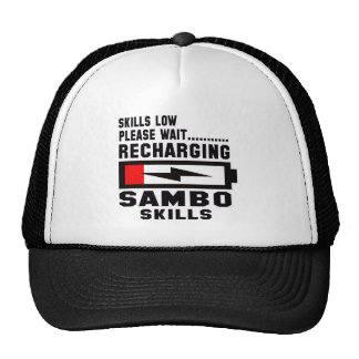 Please wait recharging Sambo skills Trucker Hat
