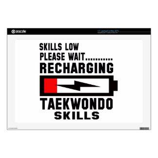 "Please wait recharging Taekwondo skills Skins For 17"" Laptops"