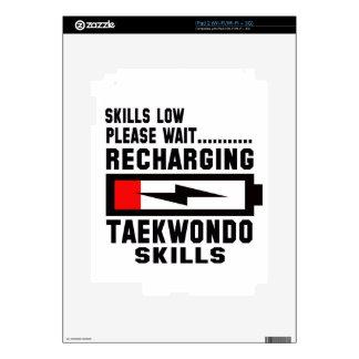 Please wait recharging Taekwondo skills Decal For iPad 2