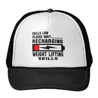 Please wait recharging Weight Lifting skills Trucker Hat