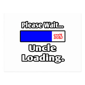 Please Wait...Uncle Loading Postcard