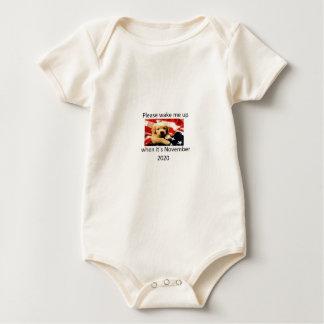 Please wake me up when 2020 baby bodysuit