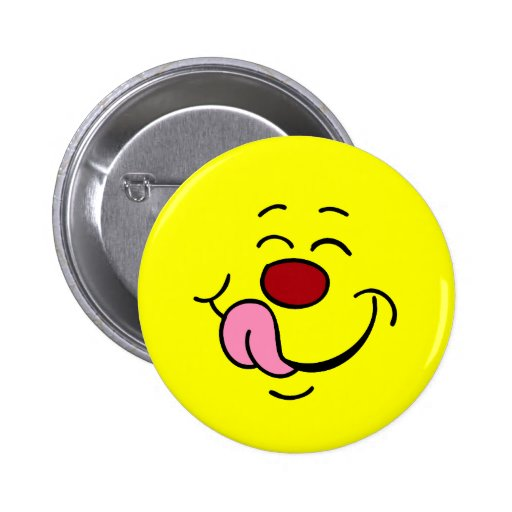 Pleased Smiley Face Grumpey Buttons