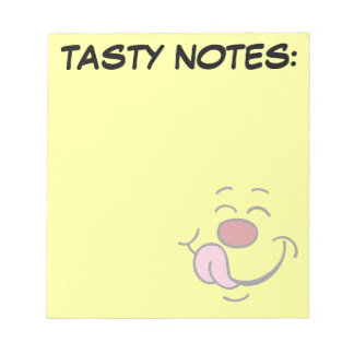 Pleased Smiley Face Grumpey Notepad