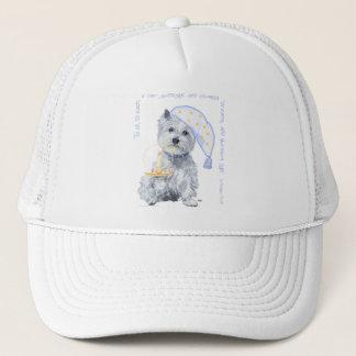 Pleasing Dreams Westie Trucker Hat
