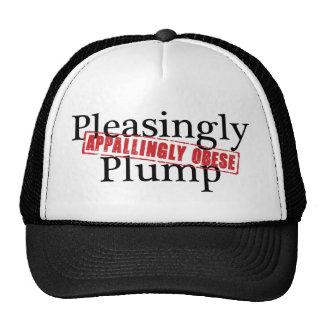 Pleasingly Plump APPALLINGLY OBESE Mesh Hats