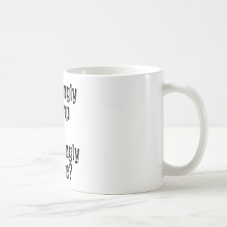 pleasingly plump or appallingly obese? coffee mug