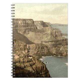 Pleaskin Head, Giant's Causeway, County Antrim Spiral Note Books