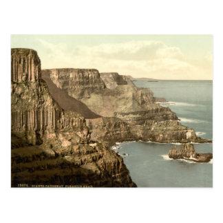 Pleaskin Head, Giant's Causeway, County Antrim Postcard