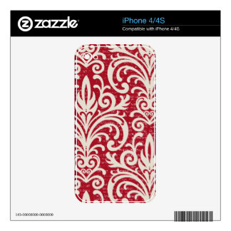 Pleasurable Delight Yummy Glamorous Decal For The iPhone 4S