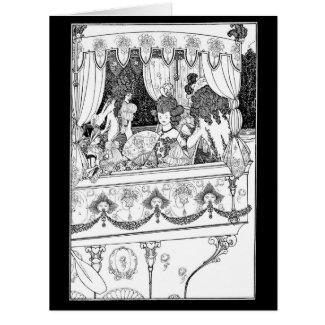 Pleasure Barge 1896 Card