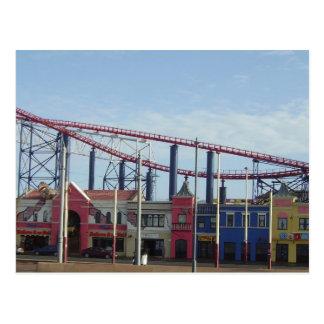 Pleasure Beach, Blackpool Postcard