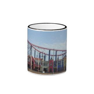 Pleasure Beach,Blackpool Promenade Ringer Mug