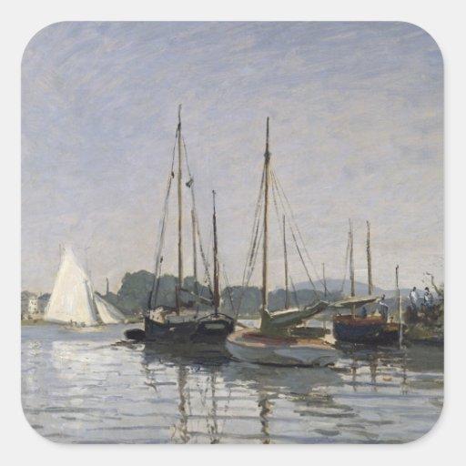 Pleasure Boats, Argenteuil, c.1872-3 Sticker
