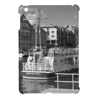Pleasure boats on the York river Ouse. Case For The iPad Mini