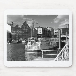 Pleasure boats on the York river Ouse. Mouse Pad