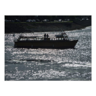Pleasure Craft, Cardiff Bay Harbour Poster