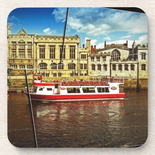 Pleasure cruise on the Ouse Drink Coasters