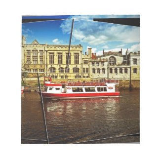Pleasure cruise on the Ouse Notepad