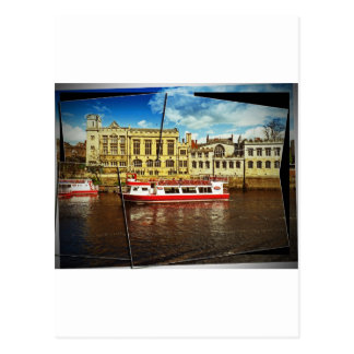 Pleasure cruise on the Ouse Postcard