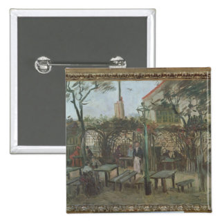 Pleasure Gardens at Montmartre, 1886 Button