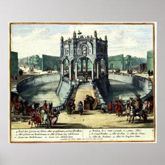 Pleasure Gardens of Enghien (1685) Poster