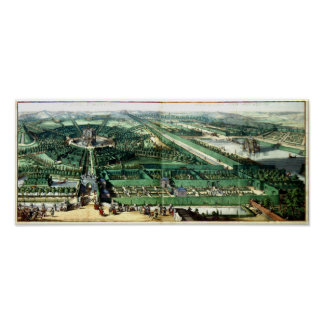 Pleasure Gardens of Enghien 1685 Poster