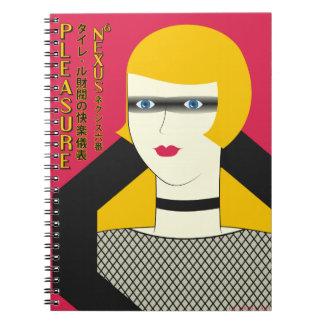 Pleasure Model Ad Notebook