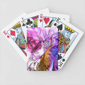 Pleasure Paradox Abstract Bicycle Playing Cards