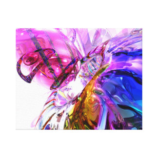 Pleasure Paradox Abstract Canvas Print