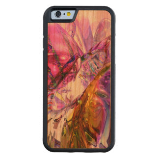 Pleasure Paradox Abstract Carved® Cherry iPhone 6 Bumper