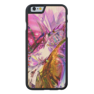 Pleasure Paradox Abstract Carved® Maple iPhone 6 Slim Case