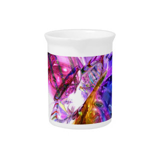 Pleasure Paradox Abstract Drink Pitcher