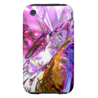 Pleasure Paradox Abstract Tough iPhone 3 Cases