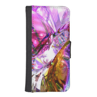 Pleasure Paradox Abstract Wallet Phone Case For iPhone SE/5/5s
