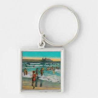 Pleasure Pier and Sun Parlor Keychains