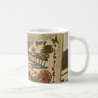 Pleasure piers art mug