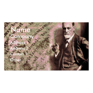 Pleasure Principle Double-Sided Standard Business Cards (Pack Of 100)