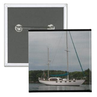 Pleasure Sailboat  Pin