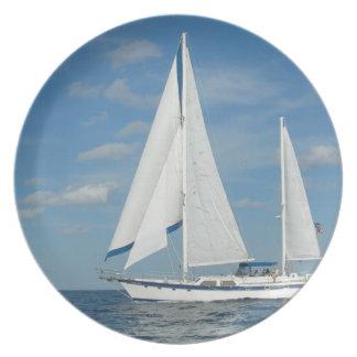 Pleasure Sailing Plate