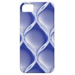 Pleated Cobalt iPhone 5 Case
