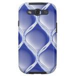 Pleated Cobalt Samsung Galaxy S3 Case