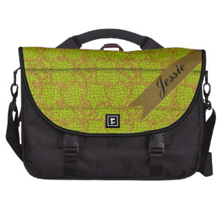 Pleated French Lace Commuter Bag