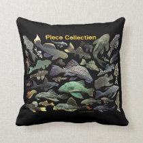 Pleco Collection Throw Pillow