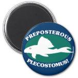 Plecostomus absurdo iman para frigorífico