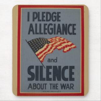 Pledge Allegiance - 1941 Mousepads