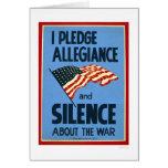 Pledge Allegiance War 1941 WPA
